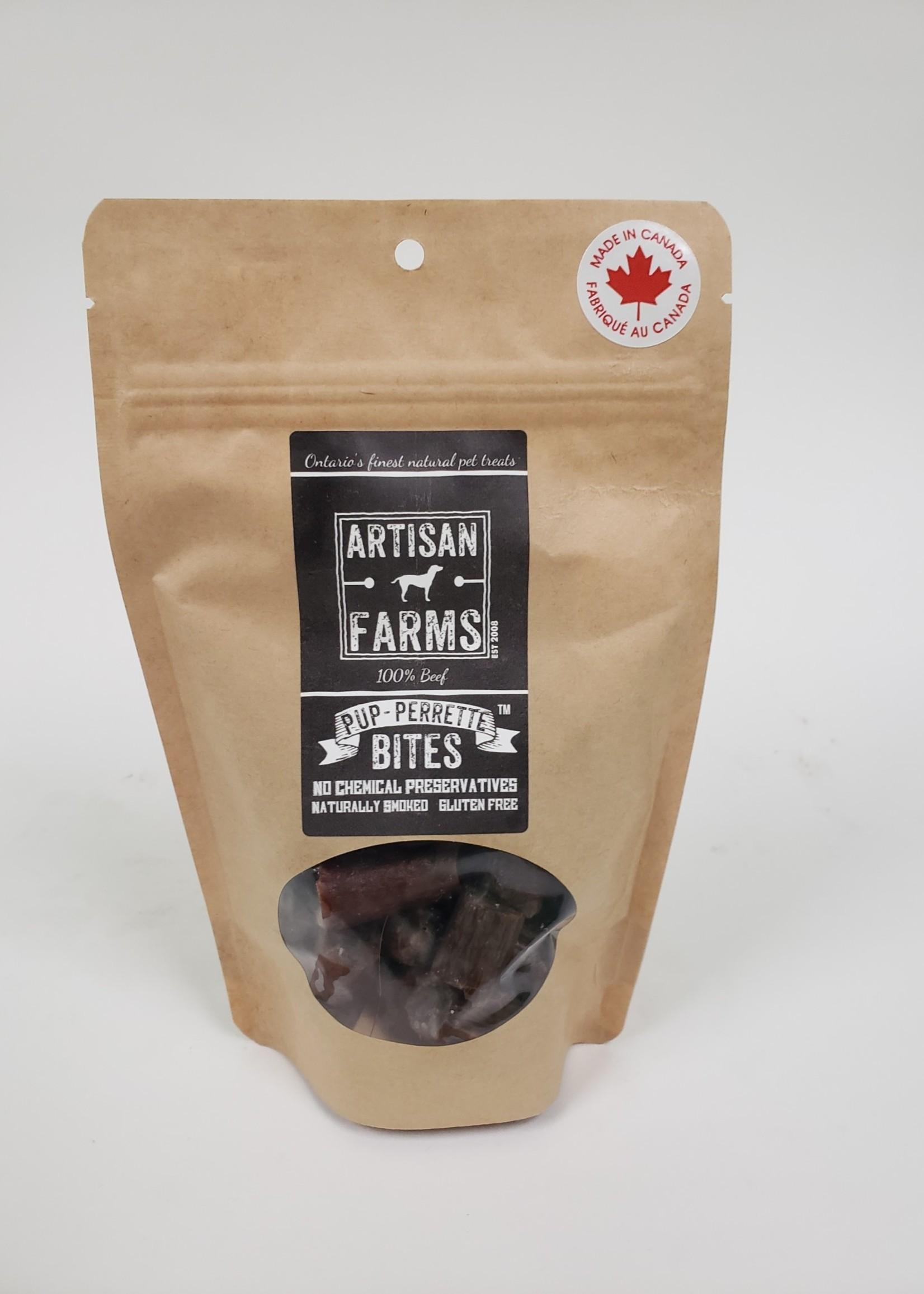 Artisan Farms® Artisan Farms Pup-Perrettes™ Bites 130g