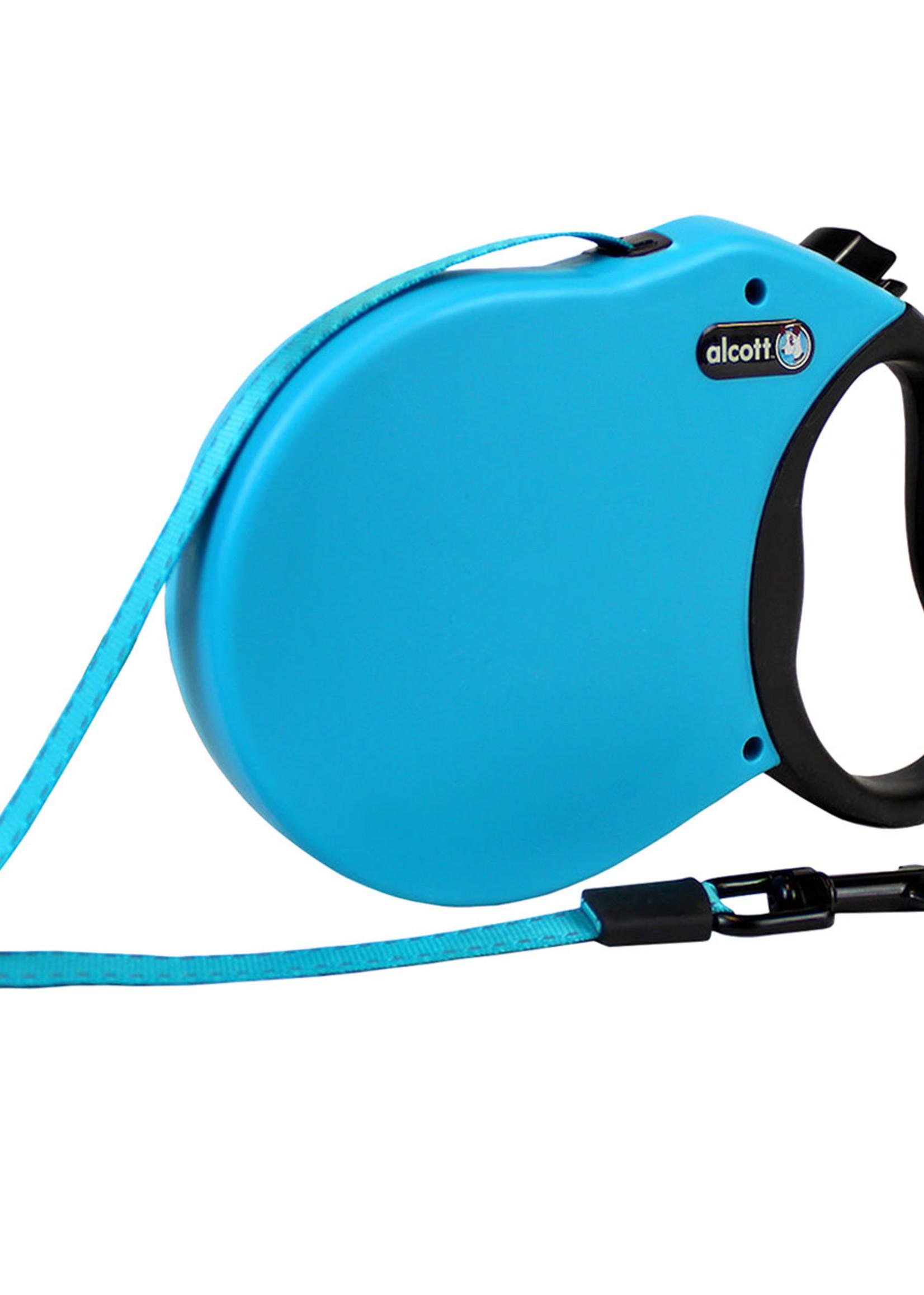 Alcott™ Alcott Adventure Retractable Leash Blue Medium