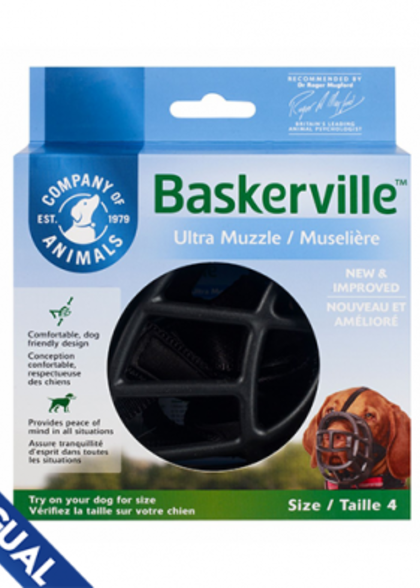 Company of Animals® Company of Animals Baskerville™ Ultra Muzzle Size 4