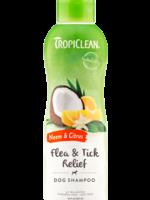 TropiClean® Neem & Citrus Flea & Tick Relief Shampoo 20oz