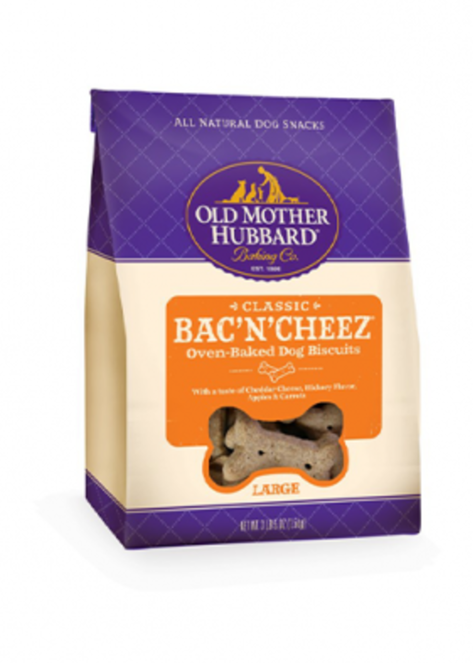 Wellness® Wellness Old Mother Hubbard® Classic Bac'n'Cheez® Oven-Baked Biscuits 3.5lbs