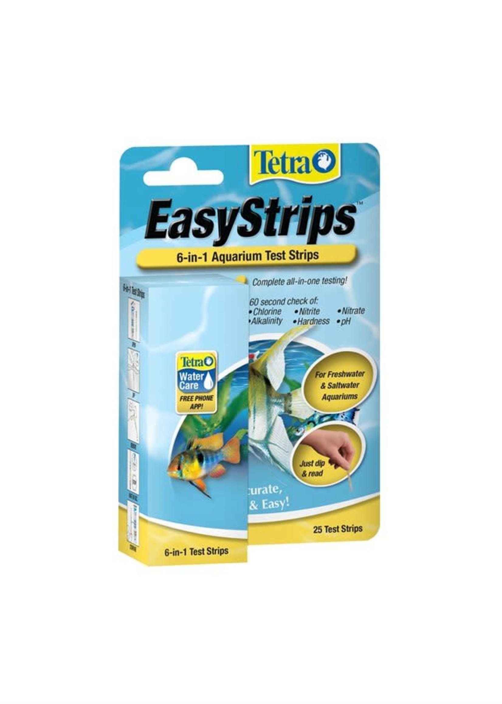 Tetra® Tetra EasyStrips 6-in-1 Test Strips 25pk