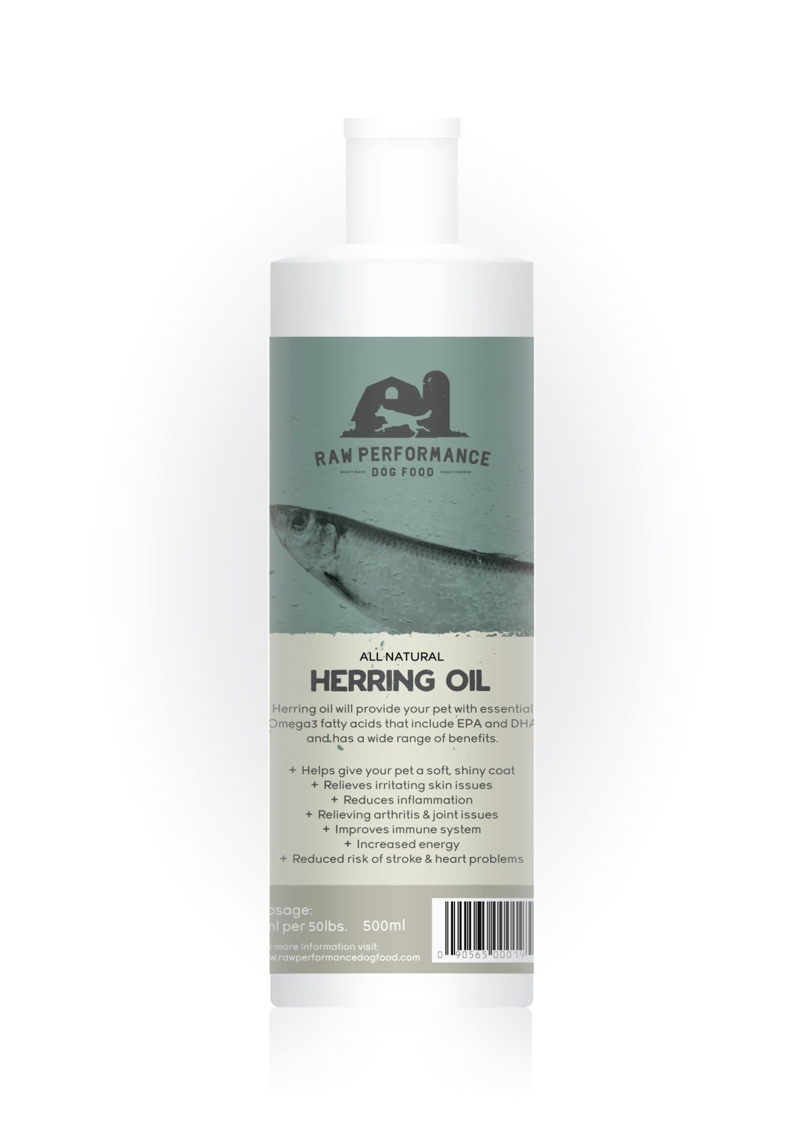 Raw Performance Raw Performance All Natural Herring Oil 500mL