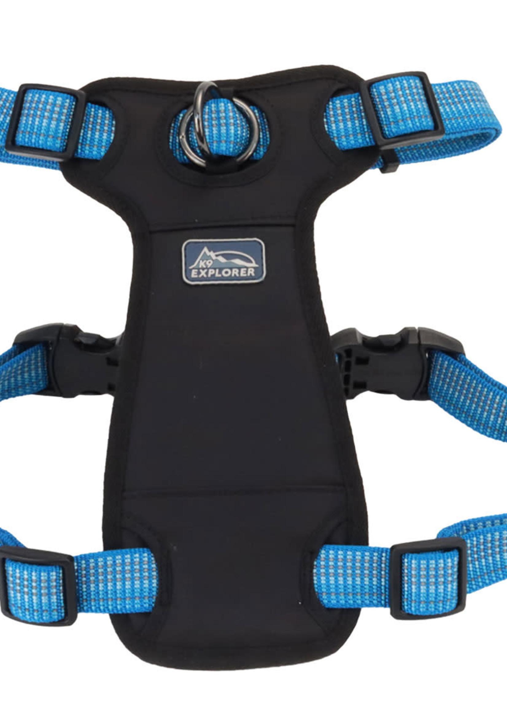 K9 Explorer® Coastal K9 Explorer Brights Reflective Front-Connect Harness Medium