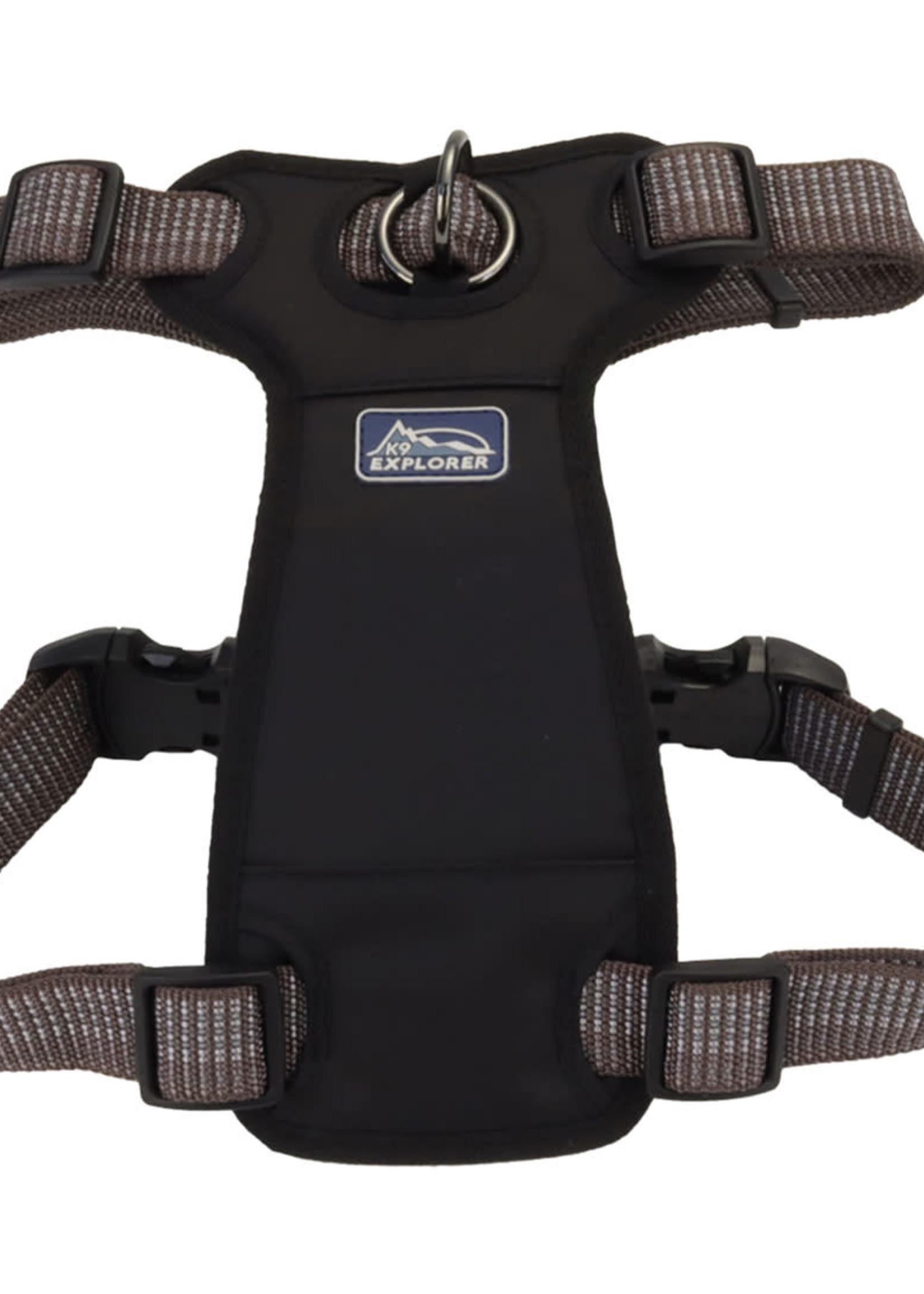 K9 Explorer® Coastal K9 Explorer Brights Reflective Front-Connect Harness Large