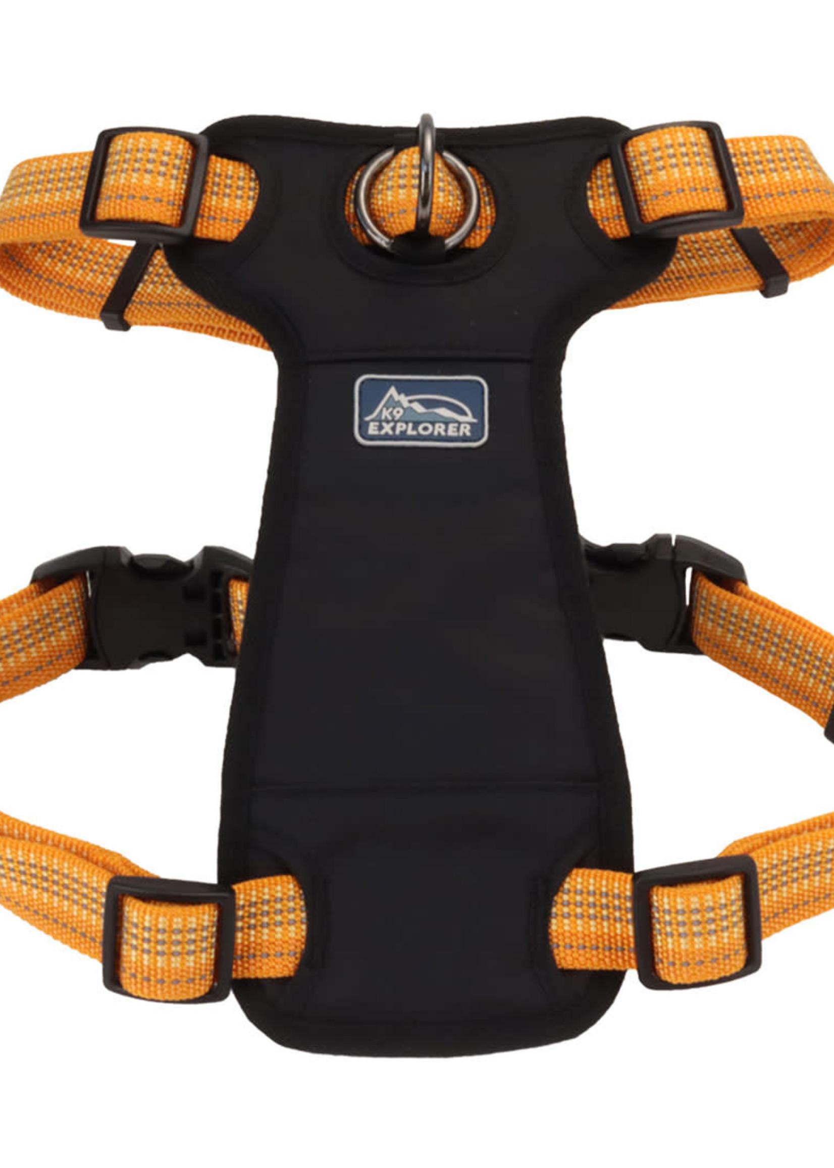 K9 Explorer® Coastal K9 Explorer Brights Reflective Front-Connect Harness X-Small
