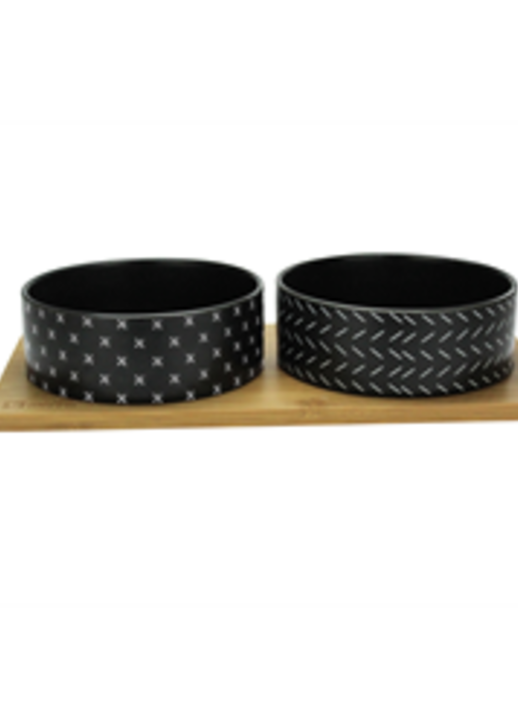 BeOneBreed™ BeOneBreed Bamboo Bowl Set Large