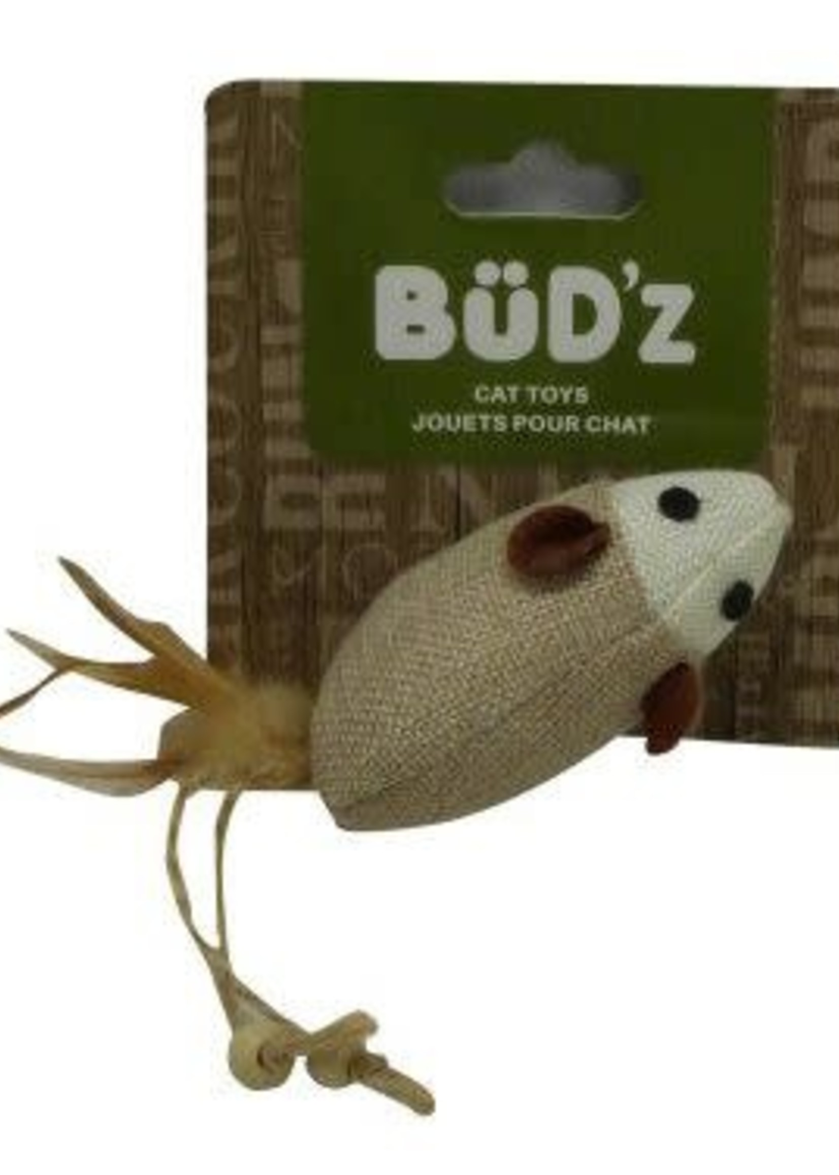 Büd'z® Bud'z Cat Mouse With Feathers