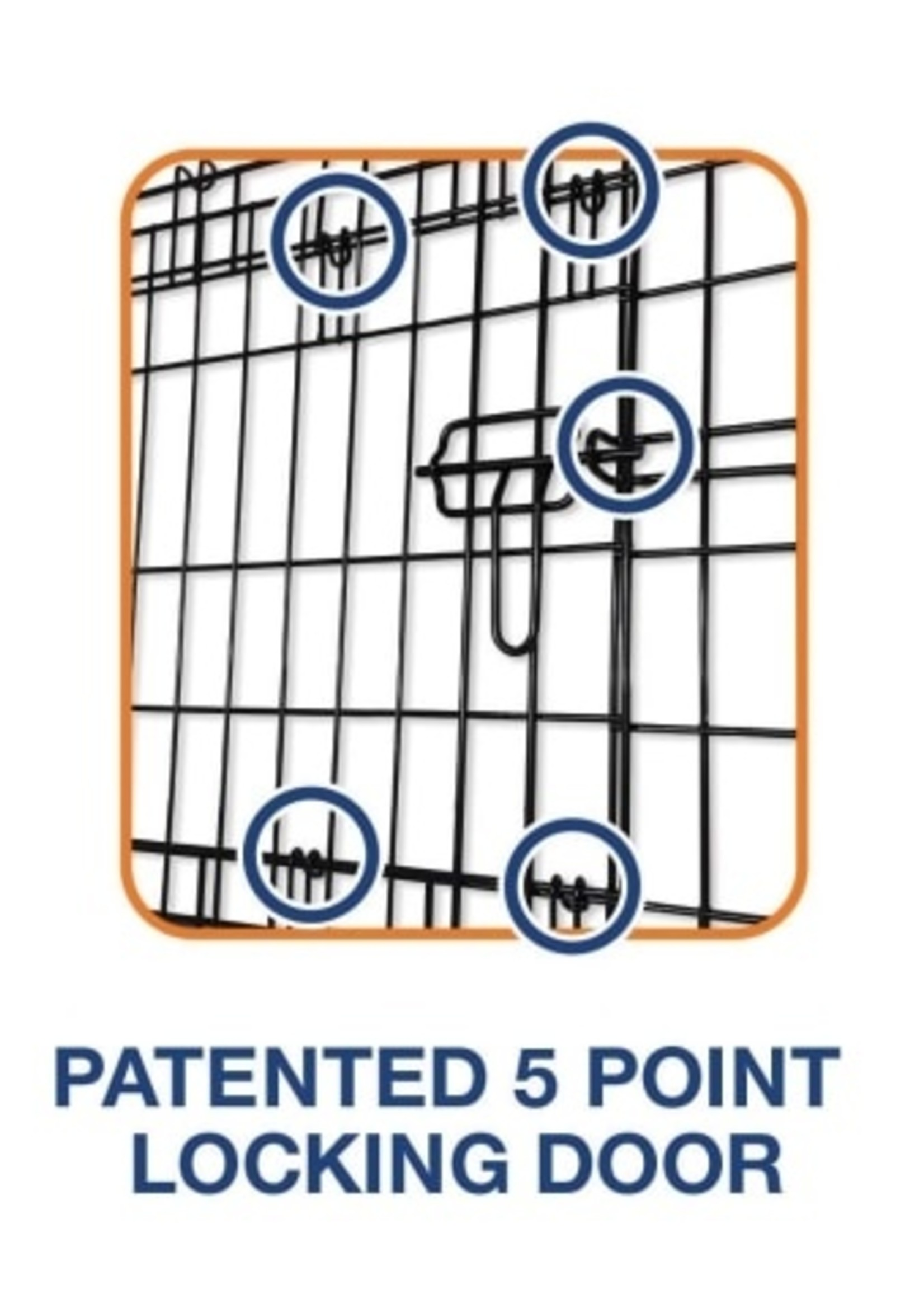 Precision® Pet Products Petmate Precision ProValu™ 2000 2-Door Crate