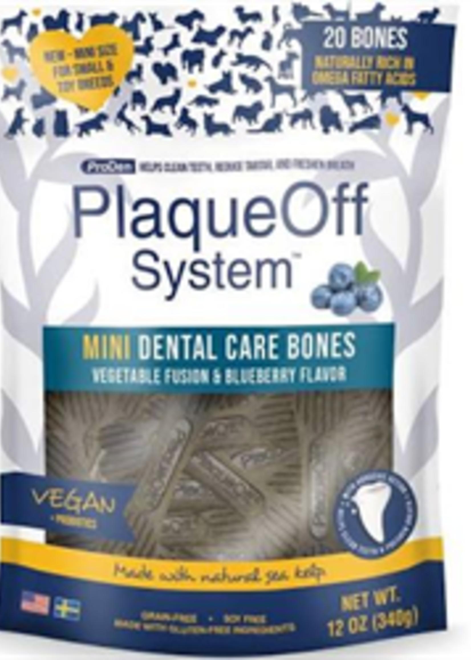 ProDen PlaqueOff® ProDen PlaqueOff® Dental Bones Mini Blueberry 12oz
