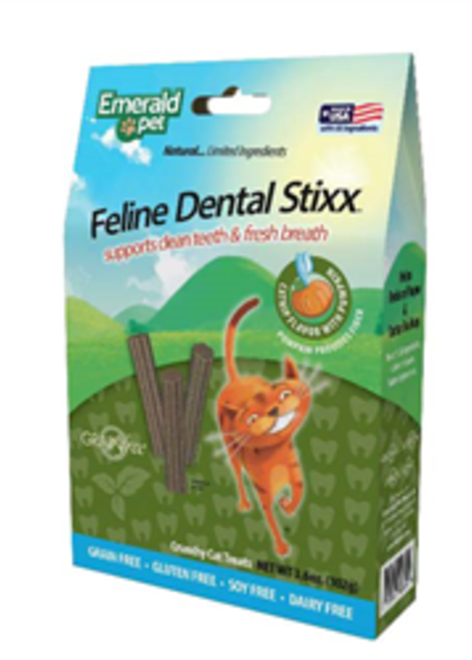 Emerald Pet® Emerald Pet® Dental Stixx 3.6oz Catnip