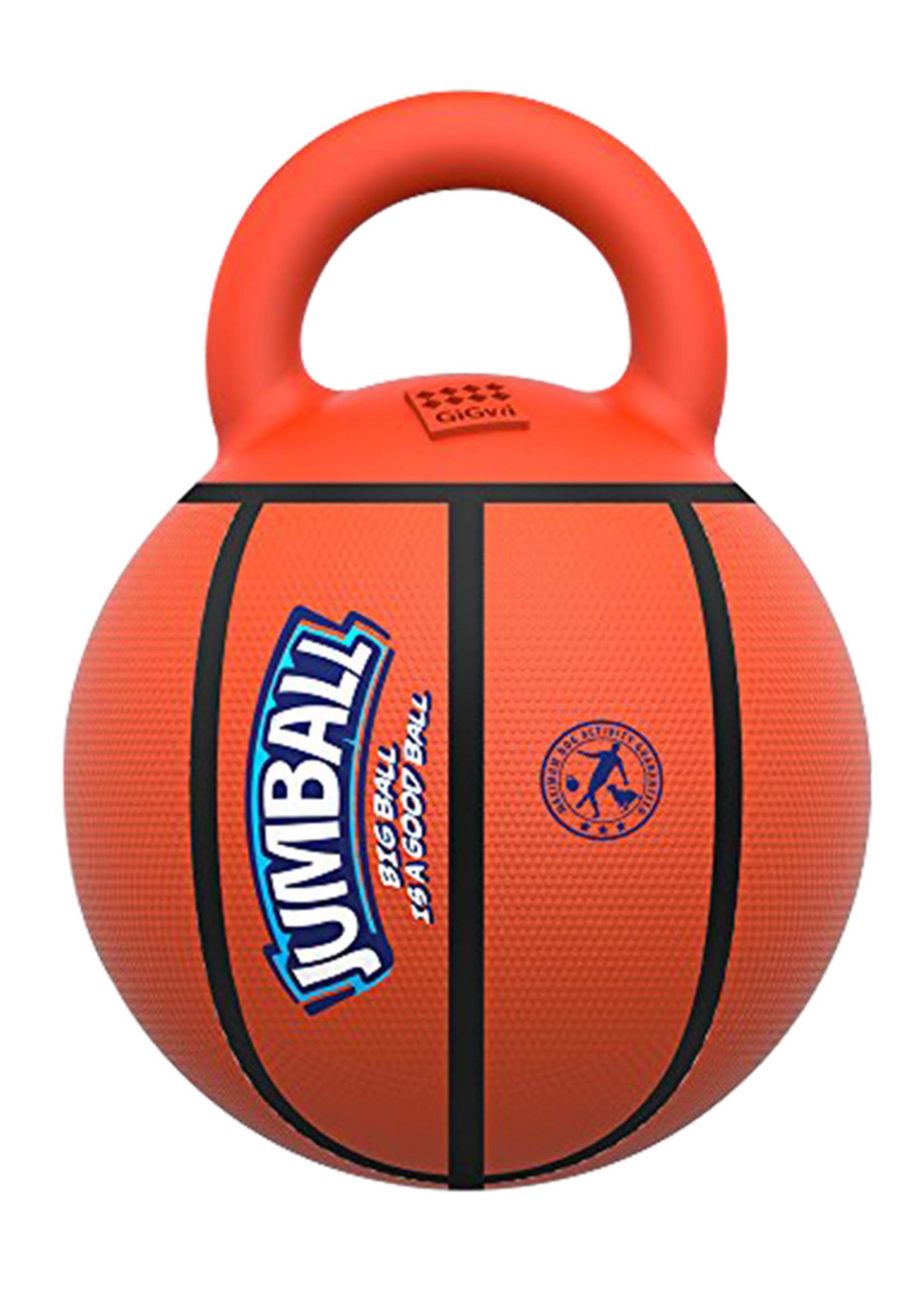 GiGwi GiGwi Jumball Basketball Small Multi-Color