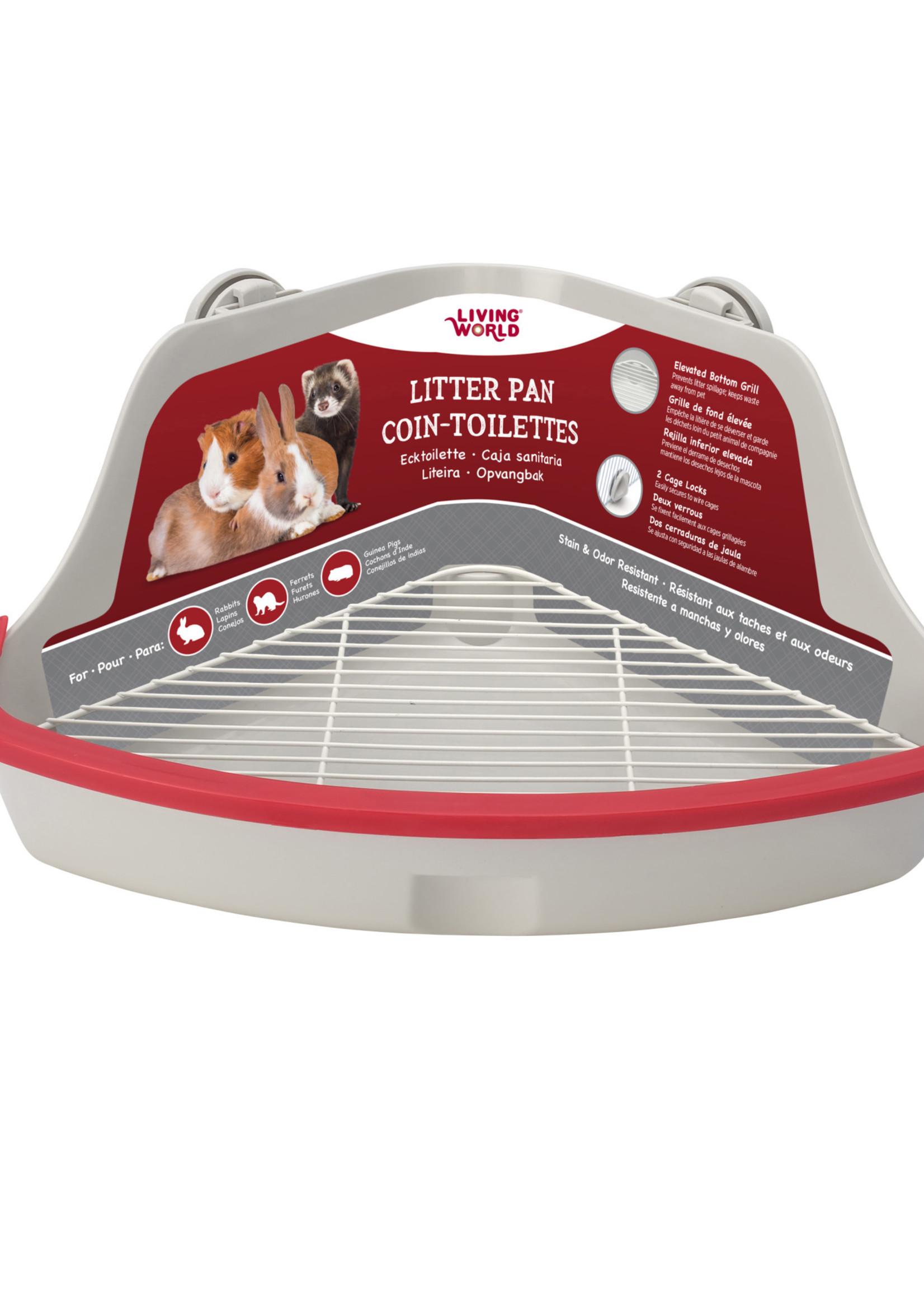 Living World® Living World® Small Animal Corner Litter Pan Large