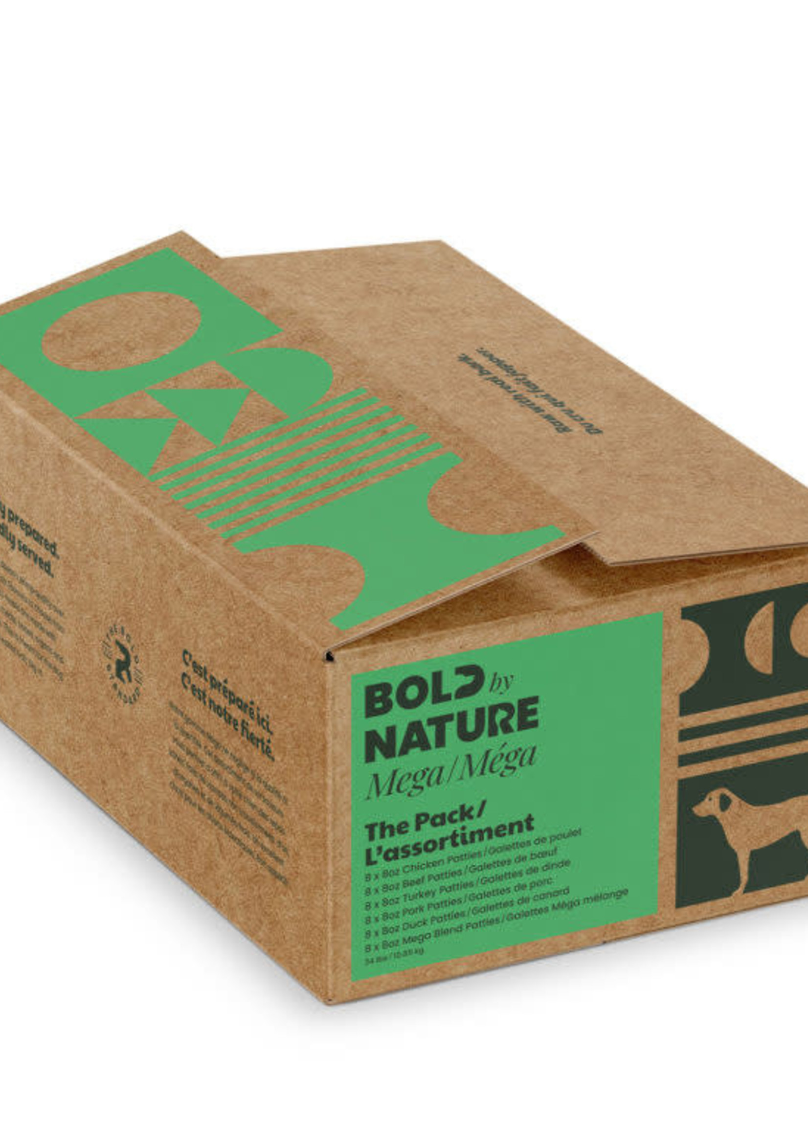 Bold by Nature© Bold by Nature© The Pack: Mega Variety 24lbs