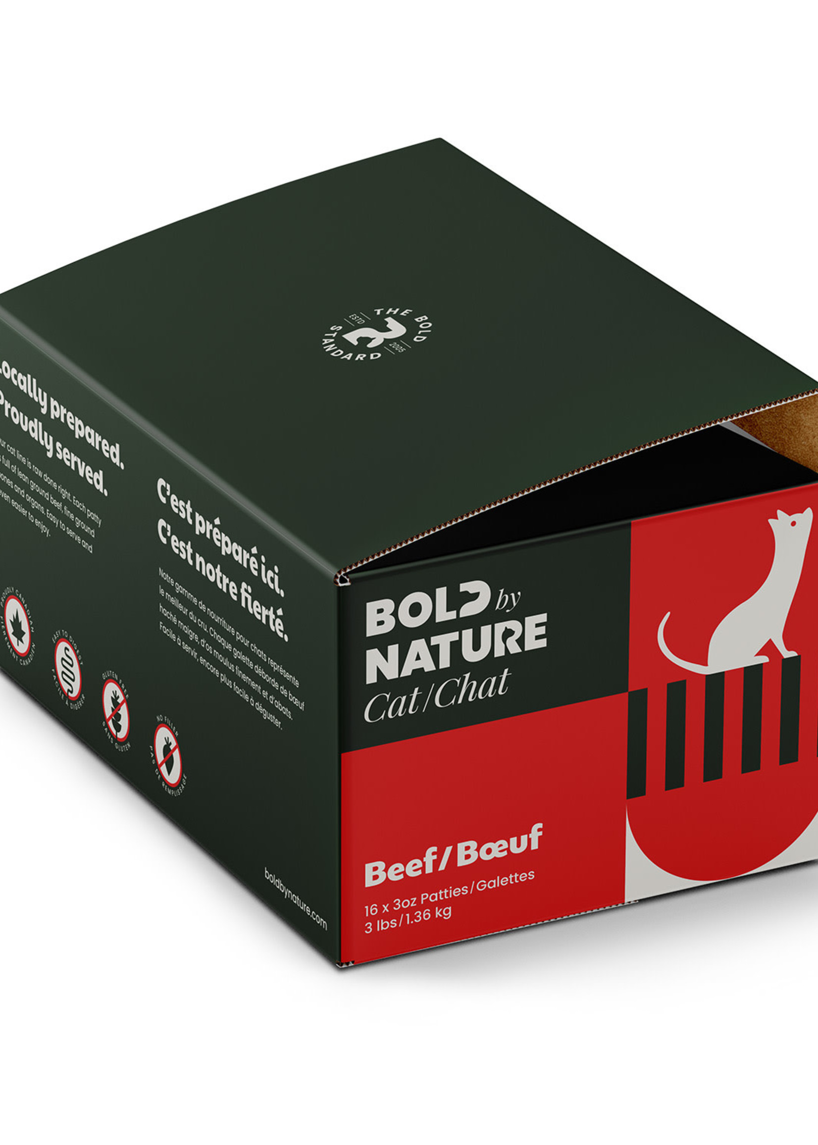Bold by Nature© Bold by Nature© Beef 3lbs