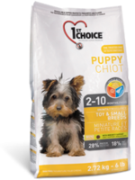 1st Choice Puppy Toy and Small Breed 2.72kG