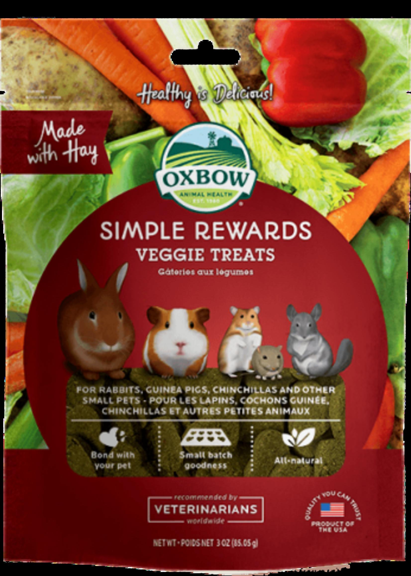 Oxbow Animal Health™ Oxbow™ Simple Rewards Veggie Treats 2oz