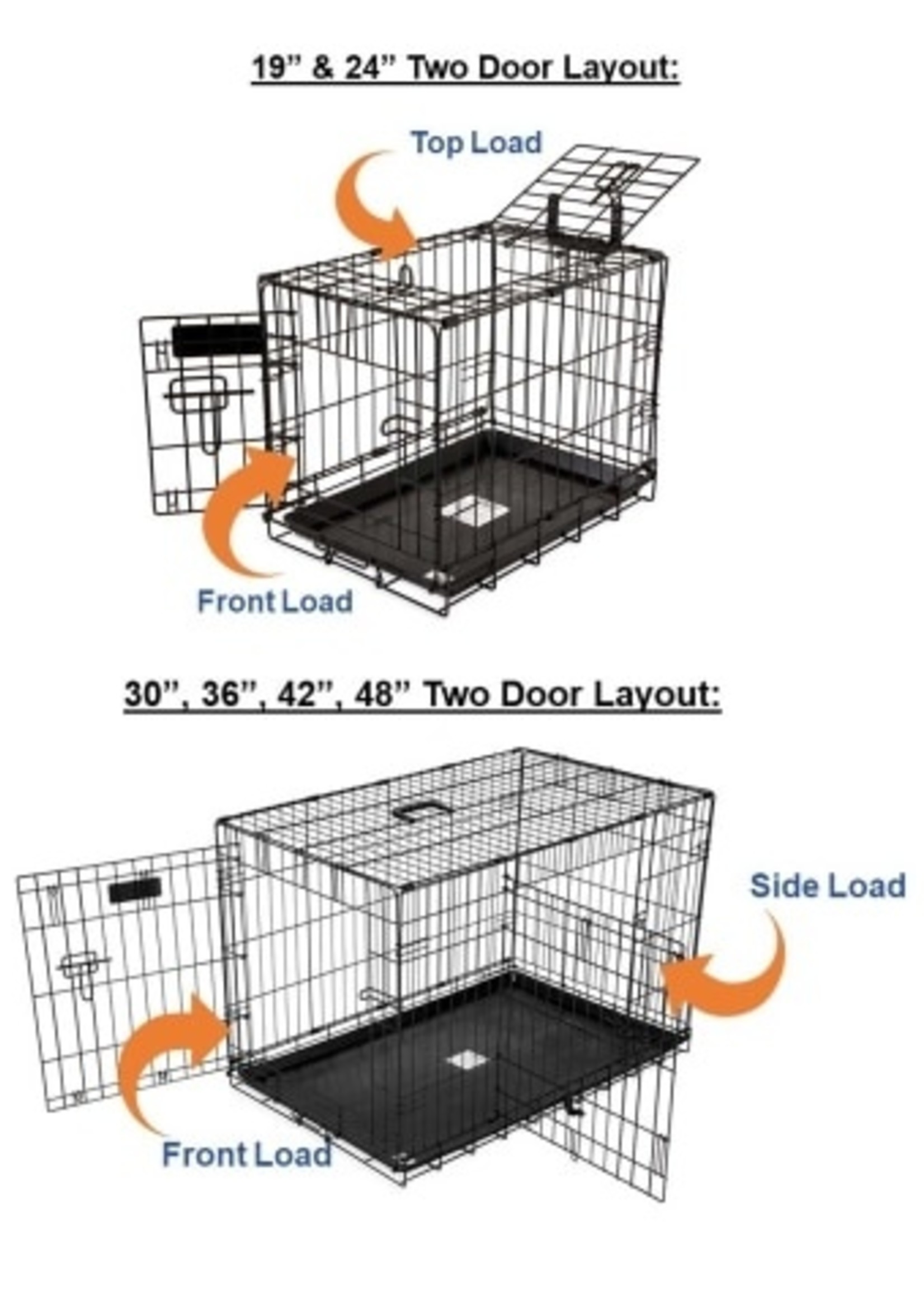 Precision® Pet Products Precision® Great Crate 2-Door 5000