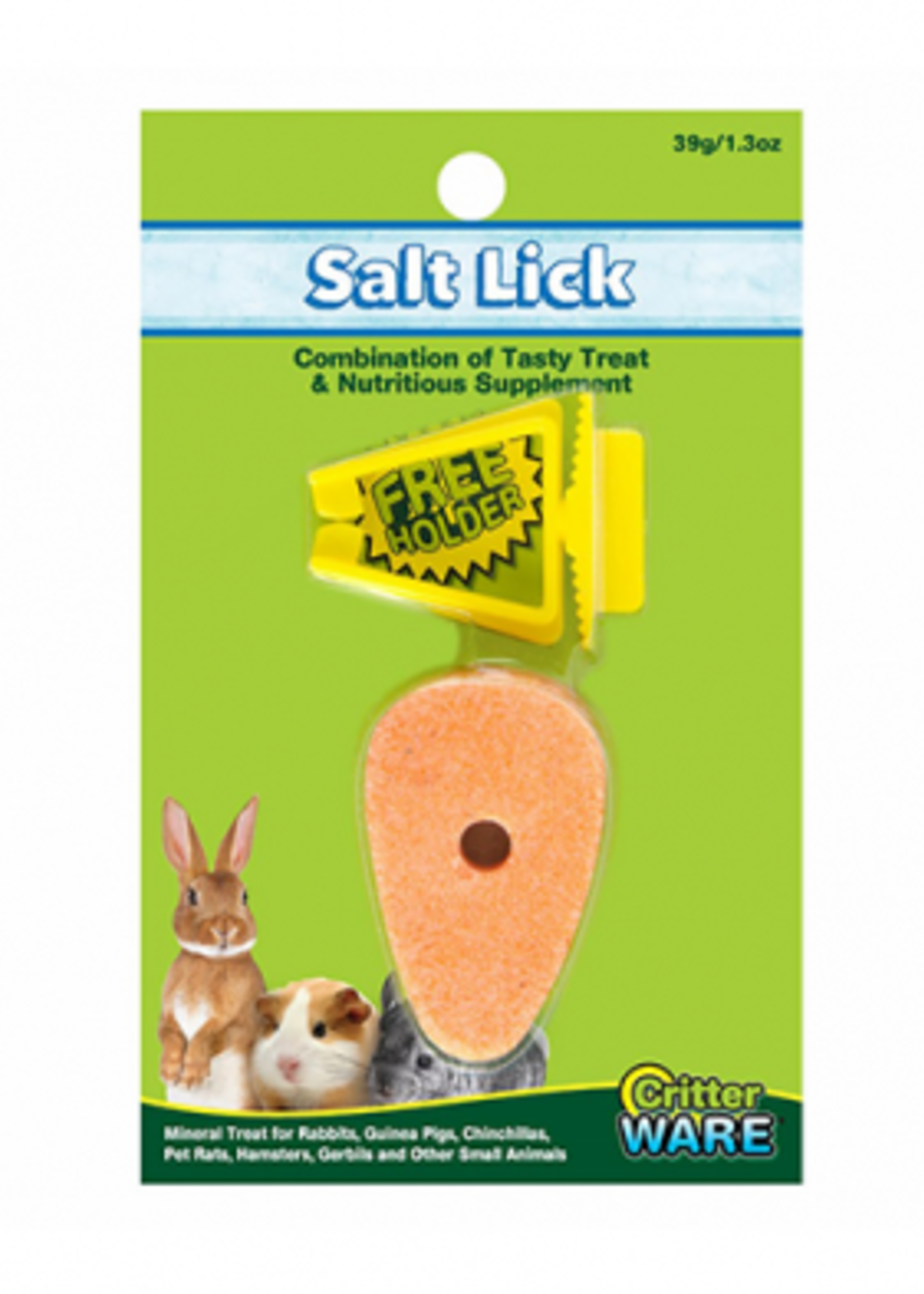 Ware™ Ware™ Carrot Salt Lick with Holder