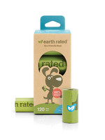 Earth Rated® 120 Bags on 8 Refill Rolls Unscented