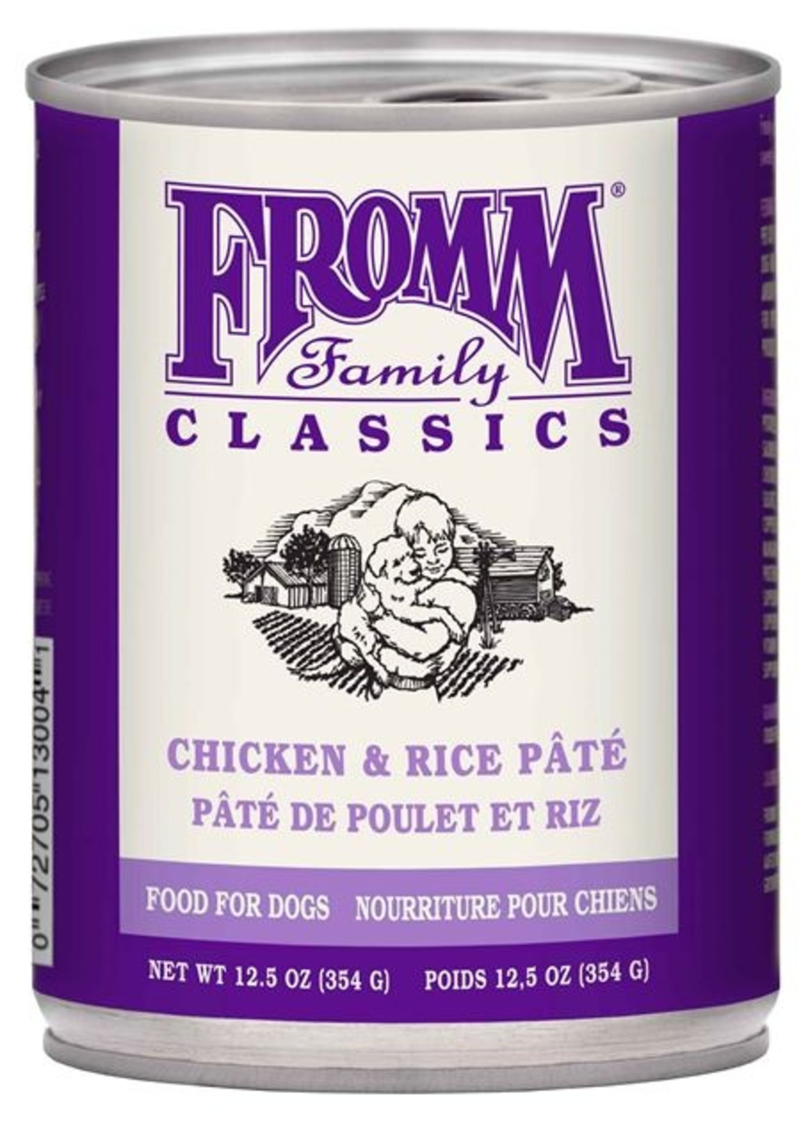 Fromm® Fromm® Classic Chicken and Rice Pâté 12.5oz