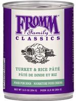 Fromm® Classic Turkey & Rice Pâté 12.5oz