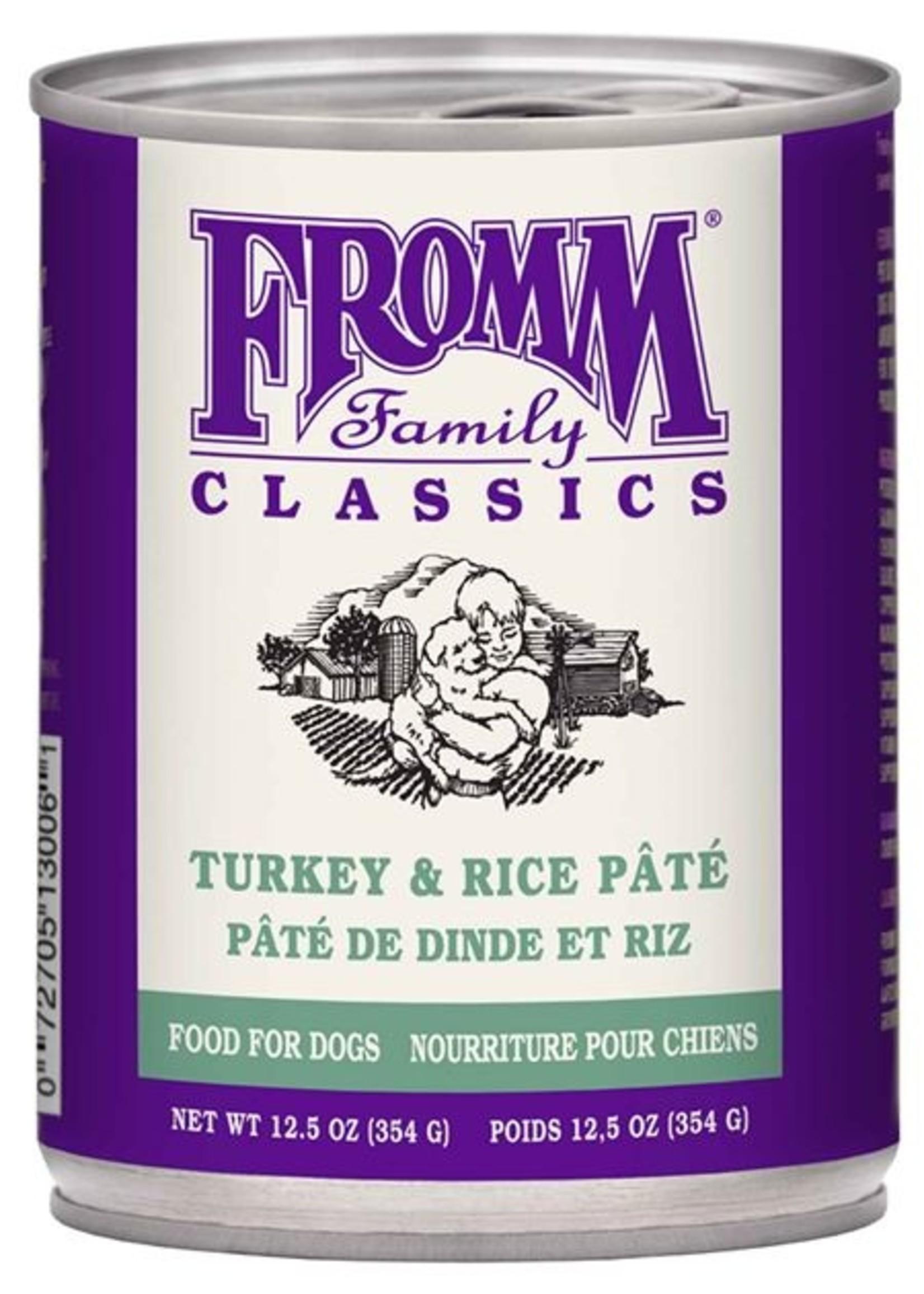 Fromm® Fromm® Classic Turkey & Rice Pâté 12.5oz