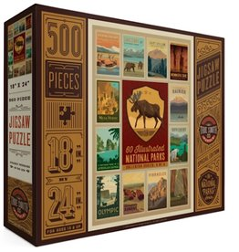 TRUE SOUTH PUZZLE National Parks Collector Series No. 4