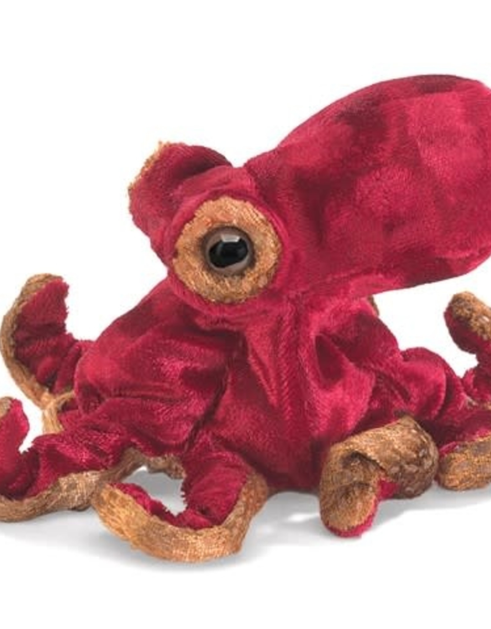 PUPPET MINI RED OCTOPUS