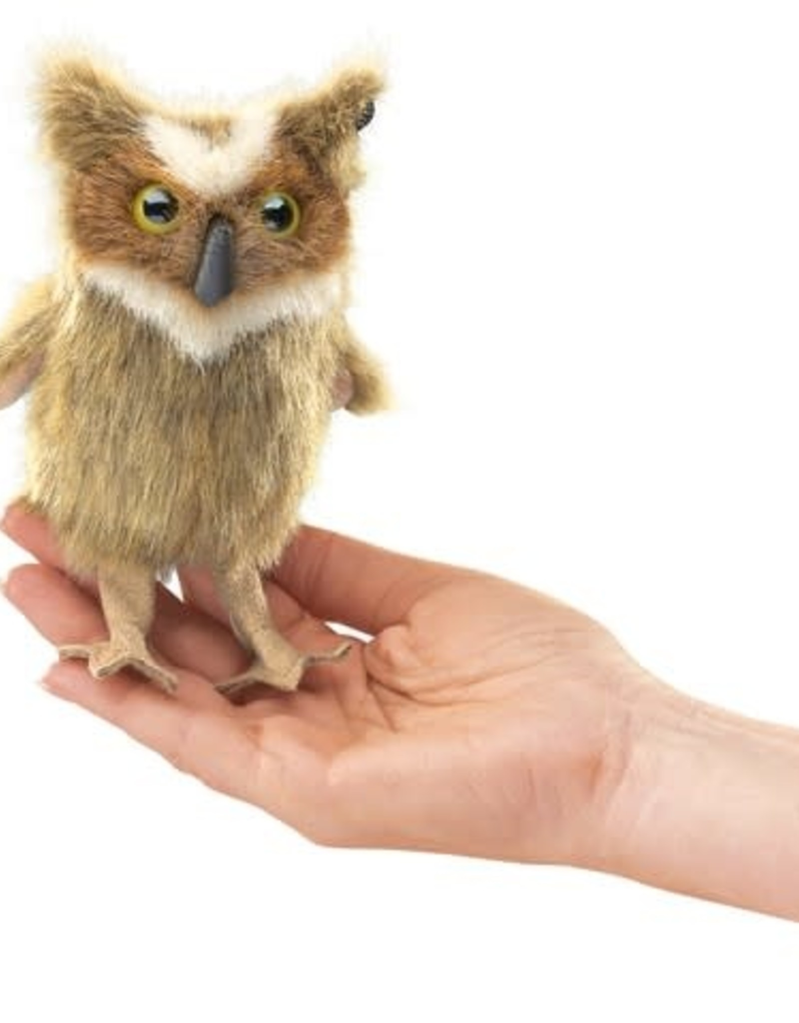 PUPPET MINI GREAT HORNED OWL