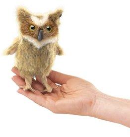 FOLKMANIS Mini Great Horned Owl Puppet