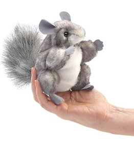 Mini Chinchilla Puppet