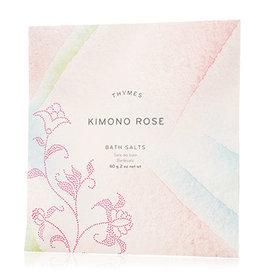 THYMES BATH SALT ENVELOPE KIMONO ROSE