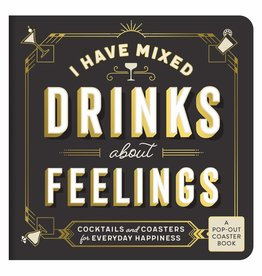 CHRONICLE I Have Mixed Drinks About Feelings Coaster Book