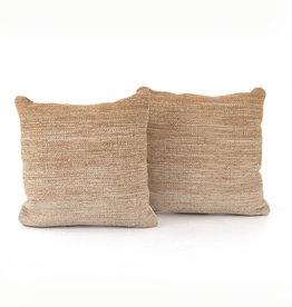 """Cotton Ombre Fawn Pillows 20"""" x 20"""""""