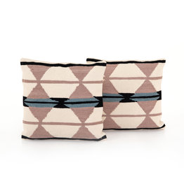 "Geometric Pattern Pillow 20"" x 20"""