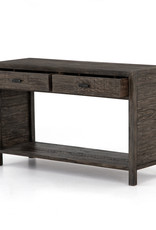 Reclaimed Dark Carbon Console Table