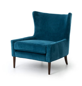 FOUR HANDS Modern Wingback Upholstered Chair