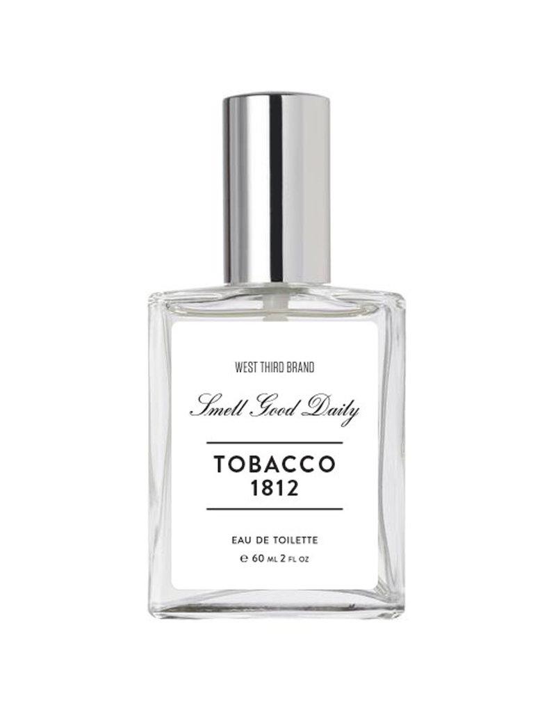 WEST THIRD BRAND Eau De Toilette Cologne Tobacco 1812