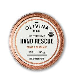 OLIVINA Cedar & Bergamot Hand Rescue