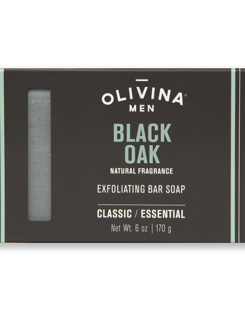 OLIVINA Black Oak Soap Bar