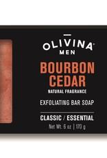 OLIVINA Bourbon Cedar Soap Bar