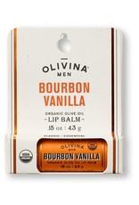 OLIVINA Bourbon Vanilla Lip Balm