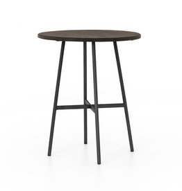 Wood & Metal Bar Table