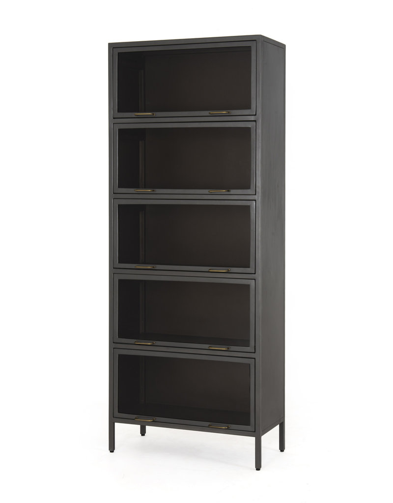 FOUR HANDS Metal & Glass Cabinet