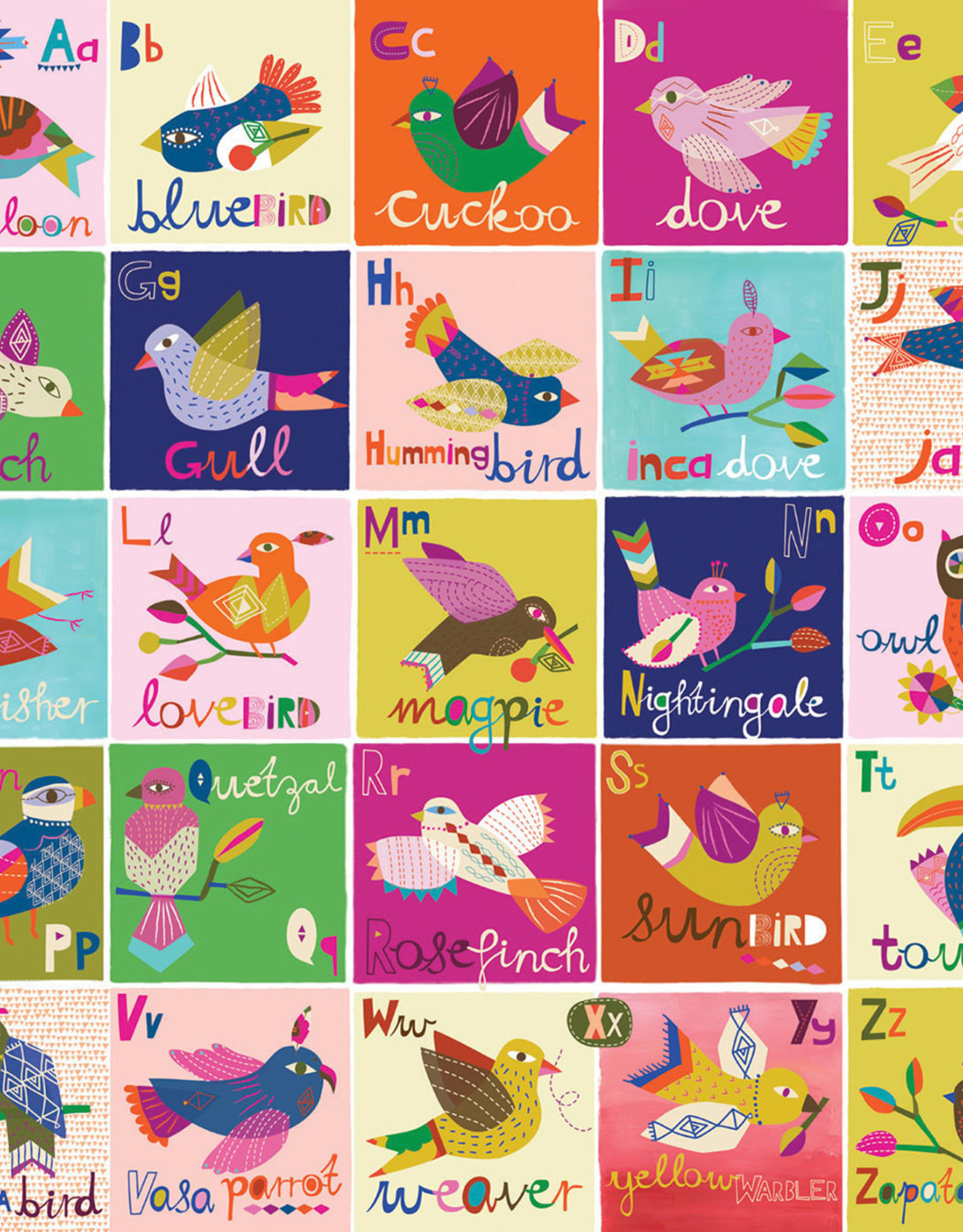A to Z Birds Puzzle