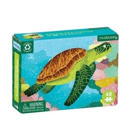 CHRONICLE Green Sea Turntle Mini Puzzle