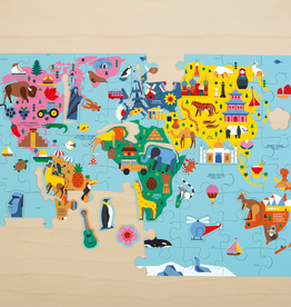 CHRONICLE Map of the World Puzzle