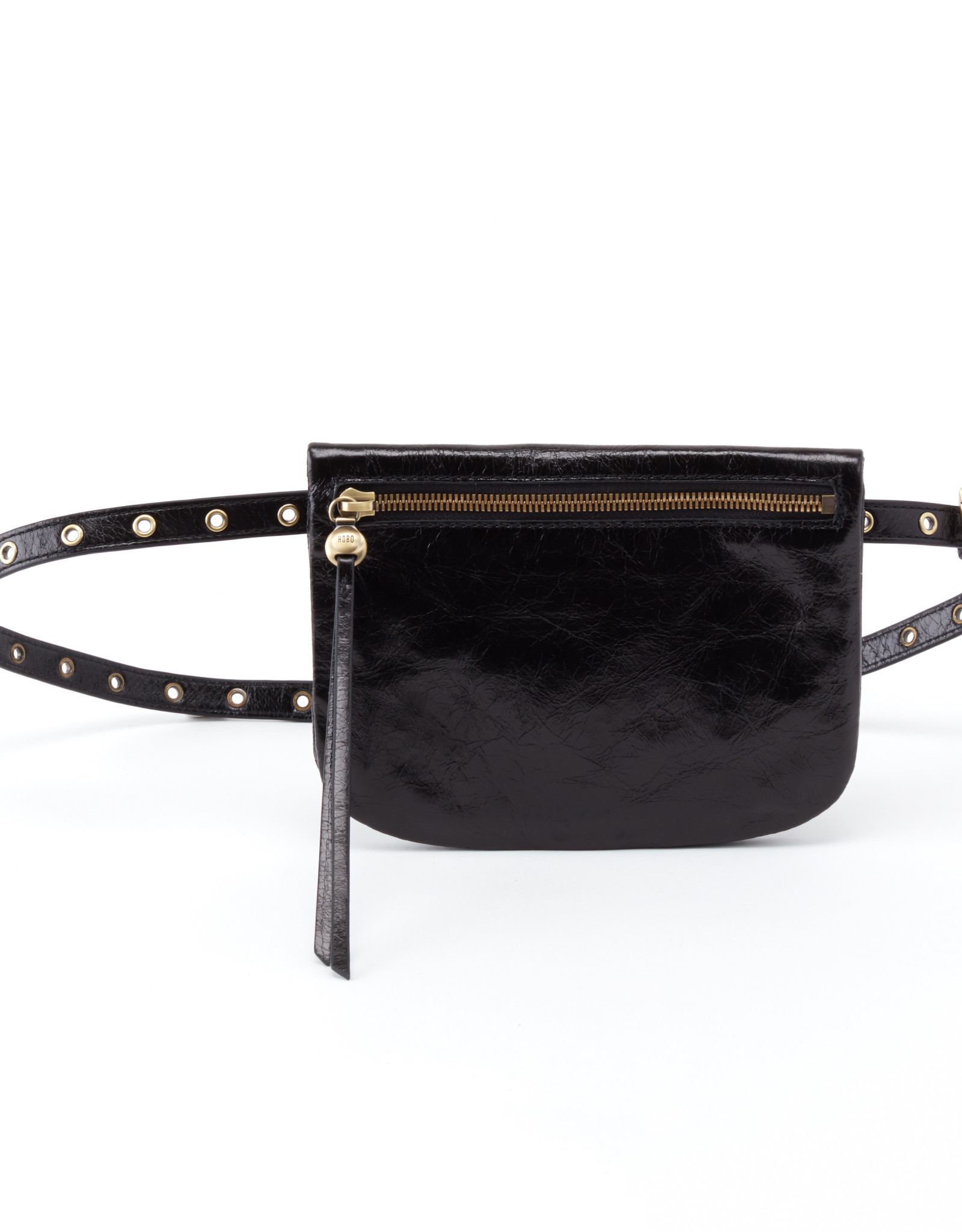 HOBO PURSE SAUNTER BLACK