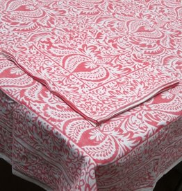 TABLECLOTH CYPRESS CORAL